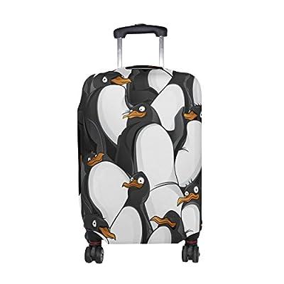 e6e73d0c07d4 DEYYA Penguin Spandex Travel Luggage Cover Baggage Suitcase ...