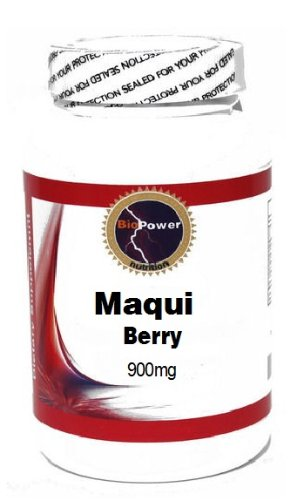 Maqui Berry 900mg 90 Capsules # BioPower Nutrition