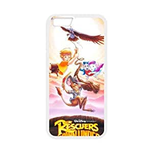 The Rescuers For iPhone 6s Plus 5.5 Inch White Cell Phone Case Qqxvc7171030