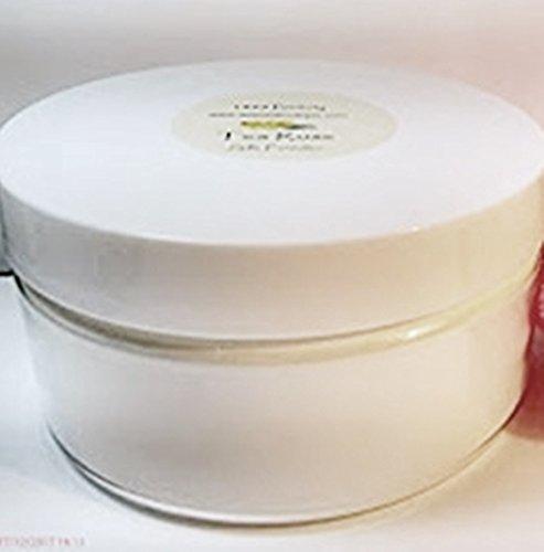 Carnation Scented Silk Body Powder - 8 oz Jar Talc Free Dusting