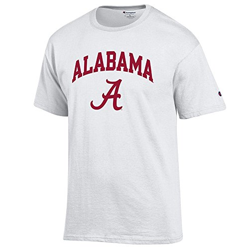 Elite Fan Shop Alabama Crimson Tide Tshirt Varsity White - XXL