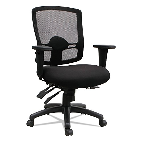 Alera ALEET4017 Etros Series Petite Mid-Back Multifunction Mesh Chair, (Fits All Executive Conference Chair)