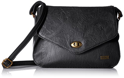 Roxy Folk Bahamas Shoulder Bag, Anthracite (Roxy Handbag)