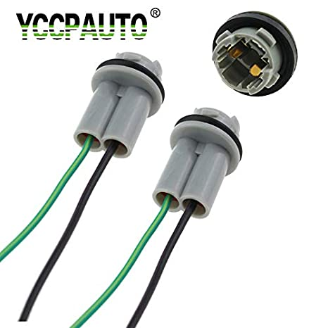T15 Socket Car LED Accessories Adapter Lights Wiring Cable Base Harness Lamp Adaptor 912 921 Holder Connector 2PCS