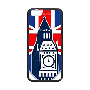 British Flag iPhone 6 4.7 Inch Cell Phone Case Black SEJ6563033071477