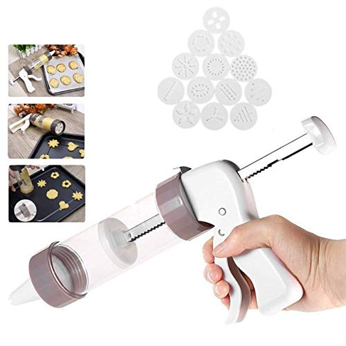 Cookie Press Kit - Cookie Press Making Gun Biscuits Cake Mold Cookie Press Maker Machine Dessert Decoration by PerfectPrice (Image #2)