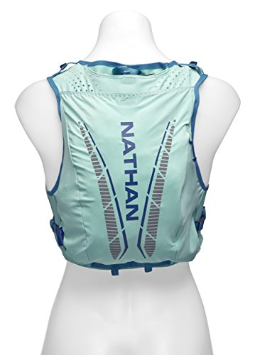 Nathan NS4538 Vaporhowe Hydaration Pack Running Vest with 1.8L Bladder, Blue Radiance, X-Small by Nathan (Image #3)