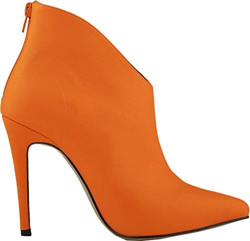 Zapatos naranjas Salabobo para mujer Q6036