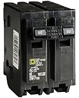square d by schneider electric home250spa homeline 50 amp spa homeline circuit breaker 50 amp bulk