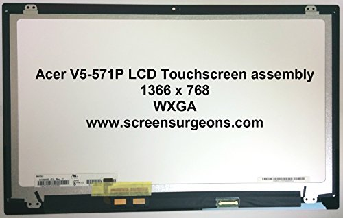(Acer V5-571P Replacement Touchscreen LCD)
