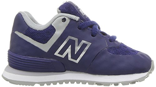 detailed look e80d8 efe92 ... New Balance 574 High Visibility, Baskets Basses Mixte Enfant bleu gris