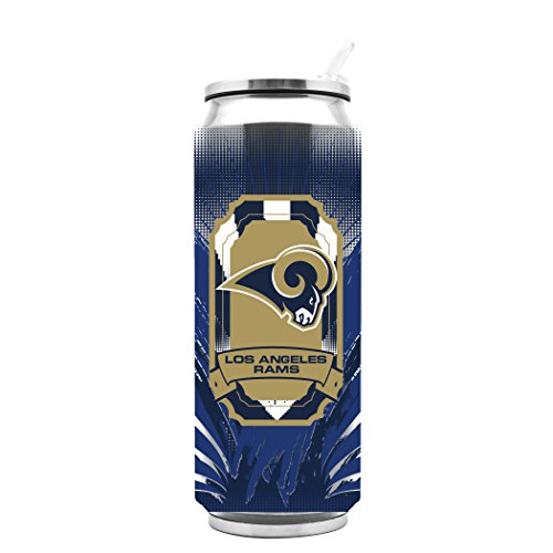 NFL Los Angeles Rams 16oz Double Wall Stainless Steel Thermocan