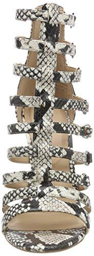 Aldo Femme Multicolore Unaclya snake 30 Bout Ouvert Sandales 4XIrwxq74