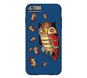 9 owls iPhone 6 Plus Dark midnight blue Tough Phone Case - Design By FSKcase?