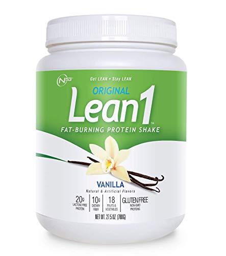 Nutrition 53 Lean 1 Vanilla, 15 Serving Tub-1.72 lbs (Best Fat Burning Protein Shake)