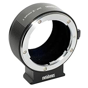 Metabones Nikon F Lens to Sony E-Mount Camera T Adapter II Black Matte