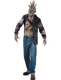 Punk Zombie Costume Adult Standard