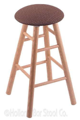 Stool Oak Pub Swivel Natural - Oak Extra Tall Bar Stool in Natural Finish with Axis Willow Seat