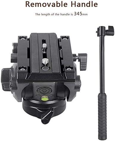 XILETU LS-5 Panoramic Photography Fluid Drag Hydraulic Tripod Head