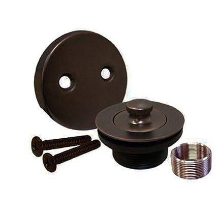 Amazon.com: Oil Rubbed Bronze Bathtub Tub Trim Drain Assembly: Home ...