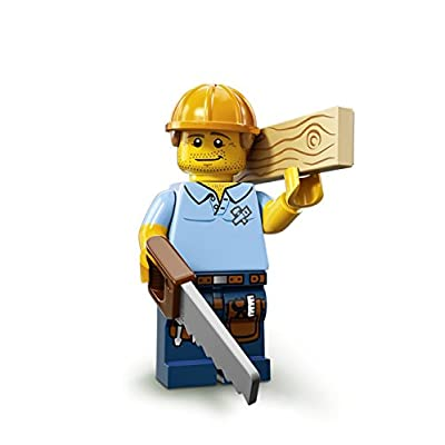 LEGO Minifigures Series 13 Carpenter Construction Toy: Toys & Games