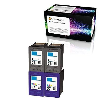 ocproducts rellenados HP 56 y HP 57 cartuchos de tinta de repuesto ...