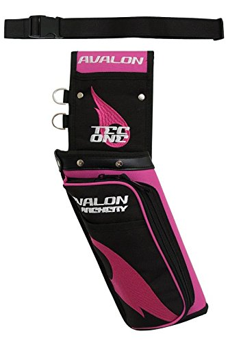 New Avalon Archery Tec One RH Field Quiver with Belt
