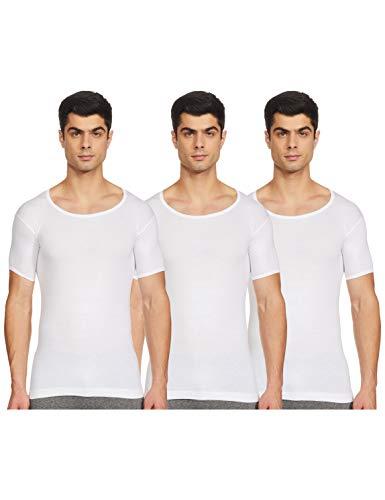 Rupa Jon Men #39;s Cotton Vest  Pack of 3