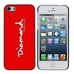 Diamond Supply 6 Red Tiny Diamonds iphone 5/5s Case