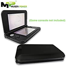 Mugen Power 5000mAh Long Life Extended Battery for New Nintendo New 3DS | Black Color Cover | Game console is not included (Black)