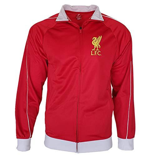 Soccer Ball Fleece Beanie - Liverpool Zip Up Hoodie Red Pullover Fleece Sweatshirt Jacket Navy New Season (Red 3, M)