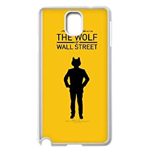 Samsung Galaxy Note 3 Cell Phone Case White Wolf Of Wall Street hno
