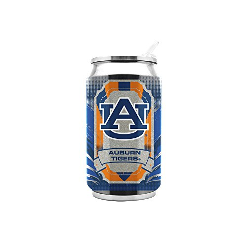 NCAA Auburn Tigers 16oz Double Wall Stainless Steel Thermocan