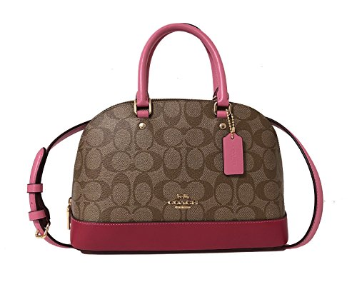 Purse Women��s Shoulder Shoulder Satchel Khaki Multi Im Coach Inclined Sierra Handbag Mini 6wZAAR8q