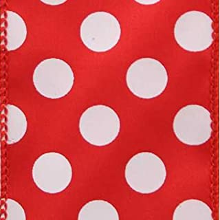 product image for Offray 989218 Dot Spirit Wired Edge Ribbon