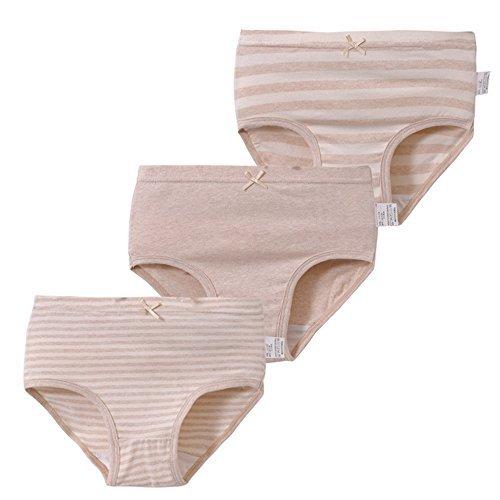 - Baby Girls Underwear 3 Pack Organic Cotton Toddler Undies Kids Short Briefs Children Underpants