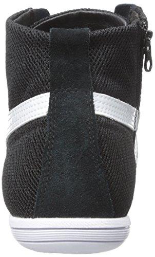 PUMA Women's Eskiva Mid Textured Cross-Trainer Shoe, Black, 7 M US by PUMA (Image #2)