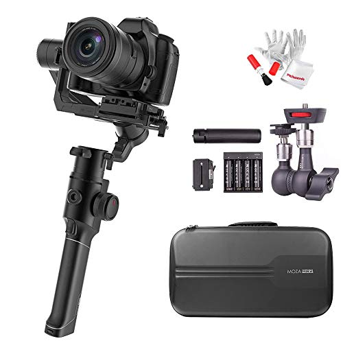MOZA Air 2 3-Axis Stabilized Handheld Gimbal for Mirrorless Camera, DSLR Camera, 16-Hour Long Working Time,