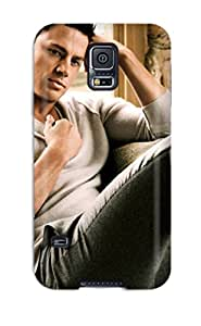 Galaxy S5 Channing Tatum Print High Quality Tpu Gel Frame Case Cover