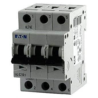 6A 3P CIRCUIT BREAKER FAZ-C6//3 THERMAL MAG