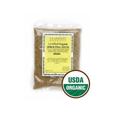 Alfalfa Sprouting Seeds Organic: Grocery & Gourmet Food