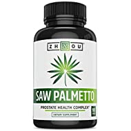 Saw Palmetto Supplement For Prostate Health - Extract & Berry Powder Complex - Healthy Urination Frequency & Flow Formula - May Help Block DHT - 500mg Capsules