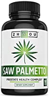 Saw Palmetto Supplement For Prostate Health - Extract & Berry Powder Complex - Healthy Urination Frequency & Flow...