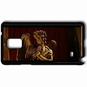 taoyix diy Personalized Samsung Note 4 Cell phone Case/Cover Skin Angels And Demons Black