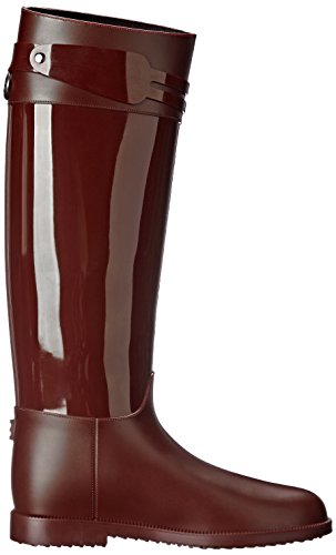 Rain Glossy SLOOSH Women's Shoe Tall Italy Bordeaux wIqO6