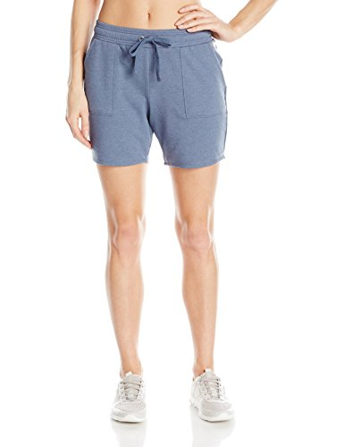 (Spalding Women's Essential French Terry Bermuda Short, Carbon Heather, S )