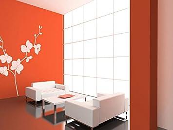 style moderne A5 Pochoir en PVC r/éutilisable Pochoir /à orchid/ée r/éutilisable 148 x 210 mm style shabby chic 5.8 x 8.3 in format A3 A5 A5 size A4