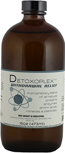 Detoxoplex - Withdrawal Relief by EPH Technologies (16oz Glass Bottle)