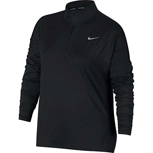 深い日の出男らしさ(ナイキ) Nike レディース ランニング?ウォーキング トップス Nike Plus Size Element Half-Zip Running Shirt [並行輸入品]