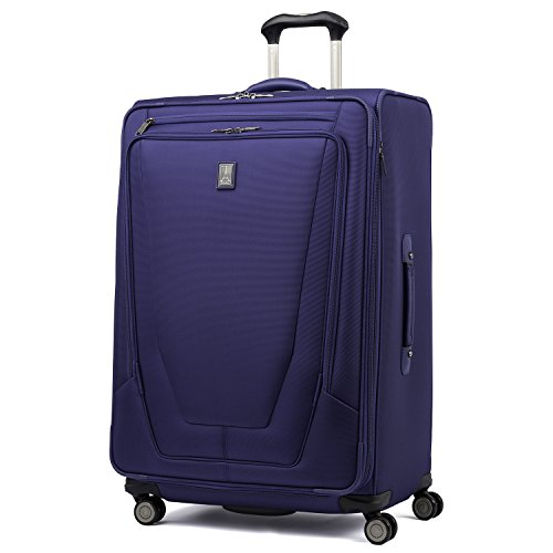 Travelpro Luggage Crew 11 29' Expandable Spinner Suitcase with Suiter, Indigo